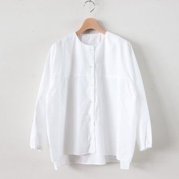 KRESS COTTON SHIRTS #WHITE [A232201TS407] _ Atelier d'antan | アトリエダンタン