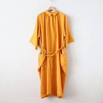 SEEDING ONE-PIECE - CLEAN SACKCLOTH #ORANGE [OP-34-201302] _ ASEEDONCLOUD | アシードンクラウド