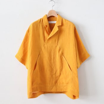 SEEDING SMOCK - CLEAN SACKCLOTH #ORANGE [SH-46-201604] _ ASEEDONCLOUD | アシードンクラウド