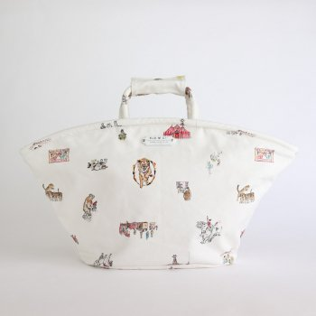 CIRCUS MARCHE BAG LARGE #WHITE [no.4284] _ R&D.M.Co- OLDMAN'S TAILOR | オールドマンズテーラー