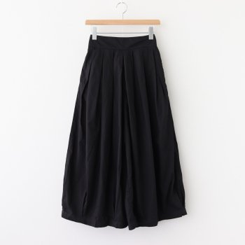 CIRCUS CULOTTES 40 COMBED TWILL #BLACK [A21609] _ HARVESTY | ハーベスティ
