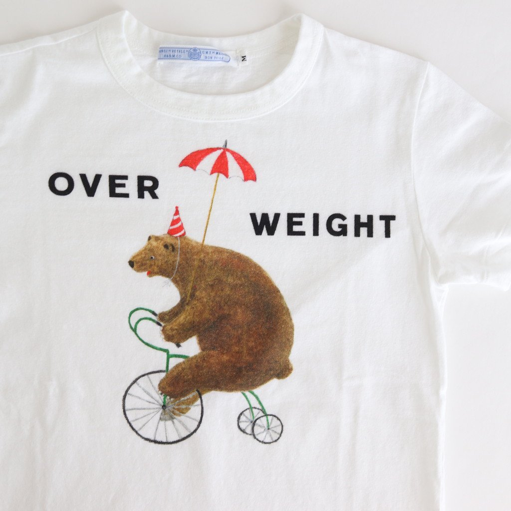 OVER WEIGHT T-SH #WHITE [no.4273]
