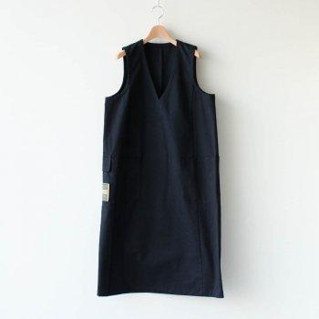 HW DRESS - 備前壱号 #CHARCOAL [OP-28-001303] _ ASEEDONCLOUD | アシードンクラウド