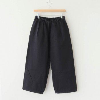 PEYTON COTTON PANTS #BLACK [A232161PP220] _ Atelier d'antan | アトリエダンタン