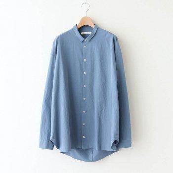 ヘムレンシャツ #RIVER BLUE [20-355] _ susuri | ススリ