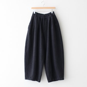 CIRCUS PANTS COTTON MELTON #CHARCOAL [A12014] _ HARVESTY | ハーベスティ