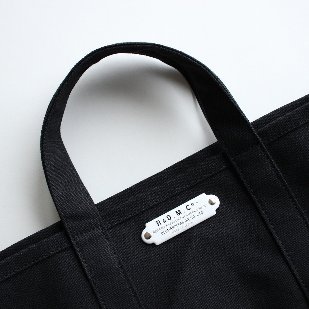 TOTE BAG L #BLACK [no.012]
