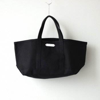 TOTE BAG L #BLACK [no.012] _ R&D.M.Co- OLDMAN'S TAILOR | オールドマンズテーラー