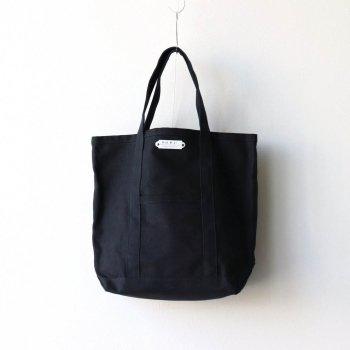R&D.M.Co- OLDMAN'S TAILOR | オールドマンズテーラー - TOTE BAG TALL #BLACK [no.3198]