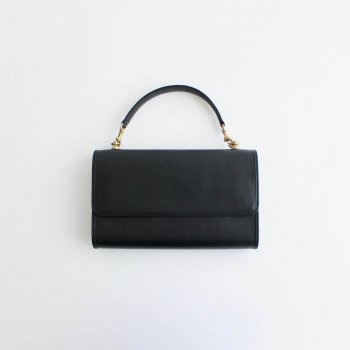 the last flower of the afternoon | ザラストフラワーオブジアフタヌーン - MINI BAG (CLUTCH /SHOULDER /HAND) #ブラック [TLF-000-le004]