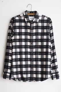 Corridor  Buffalo Check Shirt White
