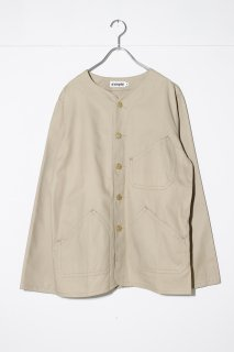 d'emploi KHAKI TWILL SHOP COAT<img class='new_mark_img2' src='//img.shop-pro.jp/img/new/icons16.gif' style='border:none;display:inline;margin:0px;padding:0px;width:auto;' />