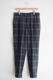 HAVERSACK Wool Tartan Check Tapered Pants<img class='new_mark_img2' src='//img.shop-pro.jp/img/new/icons52.gif' style='border:none;display:inline;margin:0px;padding:0px;width:auto;' />
