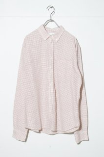 Corridor Natural Red Tattersall Check LS