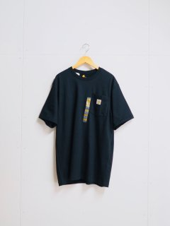 <img class='new_mark_img1' src='//img.shop-pro.jp/img/new/icons1.gif' style='border:none;display:inline;margin:0px;padding:0px;width:auto;' />Carhartt Workwear Pocket Short Sleeve T-Shirt -Black-
