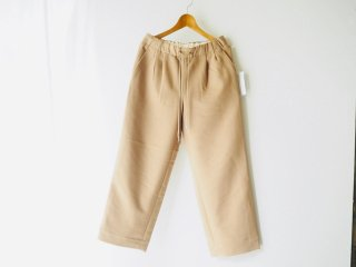 S.F.C WIDE STRAIGHT PANTS WOOL