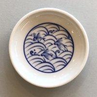 豆皿 トビウオ