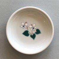 豆皿 ミヤマスミレ