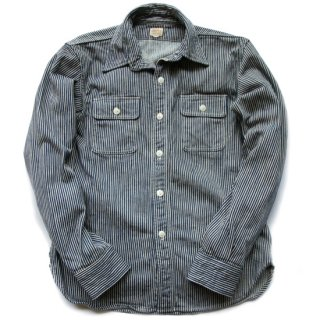 Deluxeware HV-01ヒッコリーネルシャツ