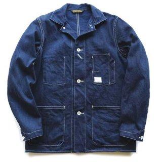 TOUGHNESS W-224S インディゴ×インディゴ コールマンズカバーオールジャケット