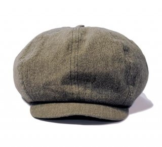 SUGAR CANE COTTON COVERT CASQUETTE
