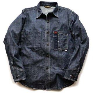 TOUGHNESS W-440Type2(1950モデル)デニムカバーオールシャツ