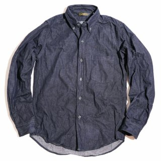 TOUGHNESS W-430D 8.5oz Denim B.D.Shirt