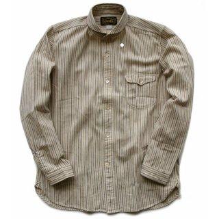 ORGUEIL ウィンザーカラーシャツ (Stripe)