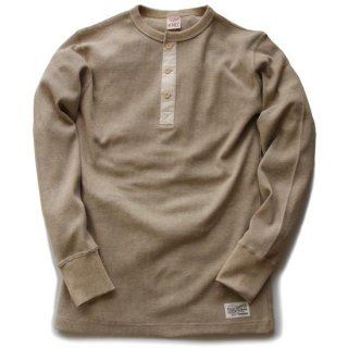 TOUGHKNIT W-1004ミディアムウェイト・LSサーマルヘンリーネックユニオンシャツ