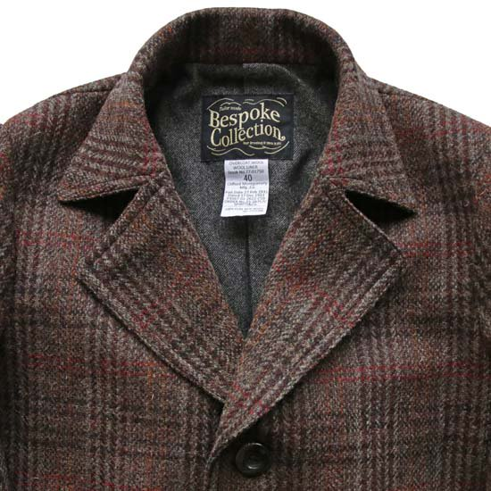 Bespoke Collection W-270 Harris Tweed Log Colat