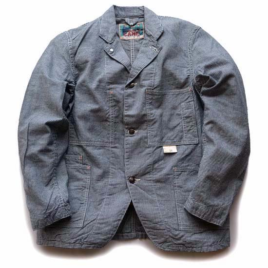 Fiction Romance(シュガーケーン)6.5oz HOUND TOOTH WORK COAT