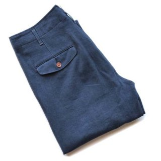 TOUGHNESS W-603ddw COTTON-LINEN TROUSERS