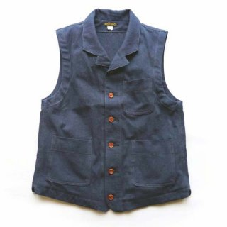 TOUGHNESS W-525ddw COTTON-LINEN VEST