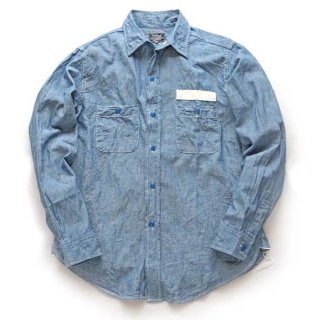 TOPAZ TS-2426 BLUE CHAMBRAY SHIRT