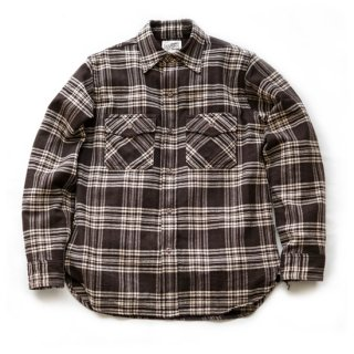 TOUGHNESS W-402 WOOL CHECK SHIRT