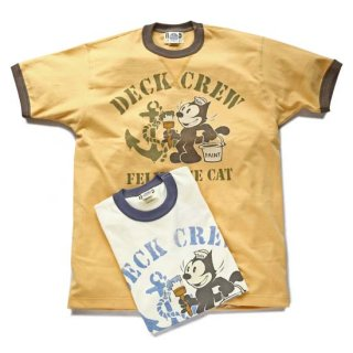 TOYS McCOY MILITARY TEE(TMC1901) FELIX THE CAT