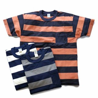 TOYS McCOY/McHILL SPORTS WEAR BORDER POCKET TEE(TMC1736)