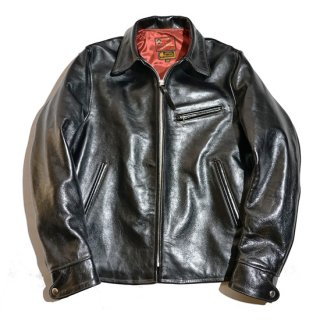 TOY McCOY・McHILL LEATHER TRUCKER JACKET