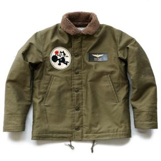 "TOYS McCOY MFG.CO. N-1 DECK JACKET""LET'S GET'EM"""