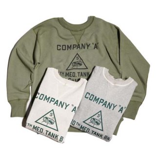 WAREHOUSE LOT.401 SET IN SLEEVE SWEAT SHIRT