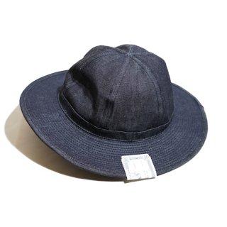 THE H.W.DOG&CO. INDIGO FATIGUE HAT(D-00395)