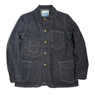 HEAD LIGHT(SUGAR CANE)9.5oz DENIM WORK COAT(HD14625-421)