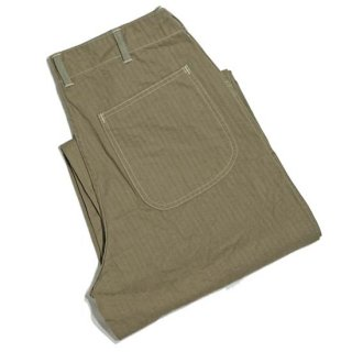 WAREHOUSE Lot 1213 MILITARY HERRINGBONE UTILITY PANTS