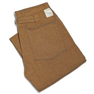 Buzz Rickson's W.W.1 BROWN DENIM ARMY TROUSERS(BR41901)