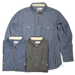 TROPHY CLOTHING HARVEST HALF ZIP SHIRT(TR-SH03)