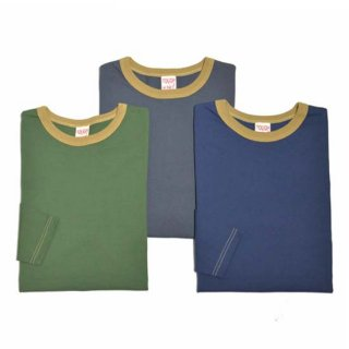 TOUGHKNIT W-1012 LONG SLEEVE RINGER NECK T-SHIRT(2020NEW!)