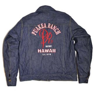 SUGAR CANE 12oz.DENIM PUAKEA RANCH JACKET (SS14785)