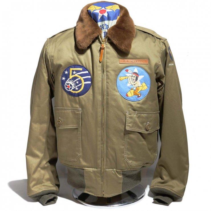 Buzz Rickson's Type B-10 64thBS/5thAF(BR14704-01)