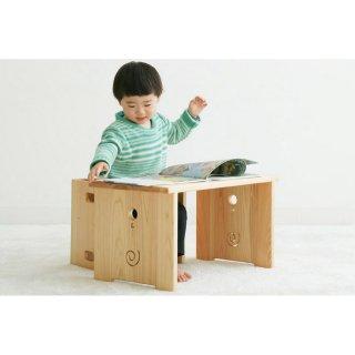 [1歳-]花テーブル〈子ども家具〉なかよしライブラリー