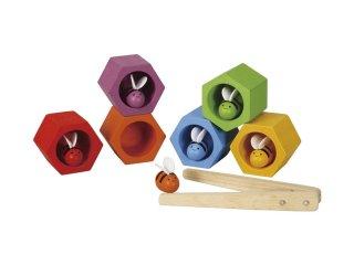 [3歳-]ビーハイブ〈はさむおもちゃ・箸の練習〉PLANTOYS